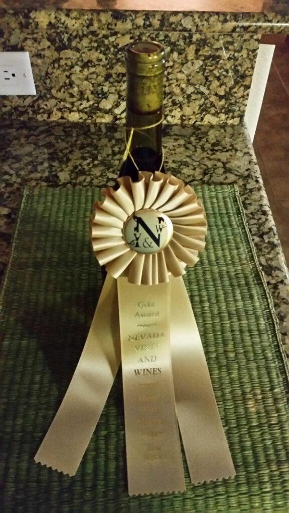 1st Gold, a Merlot